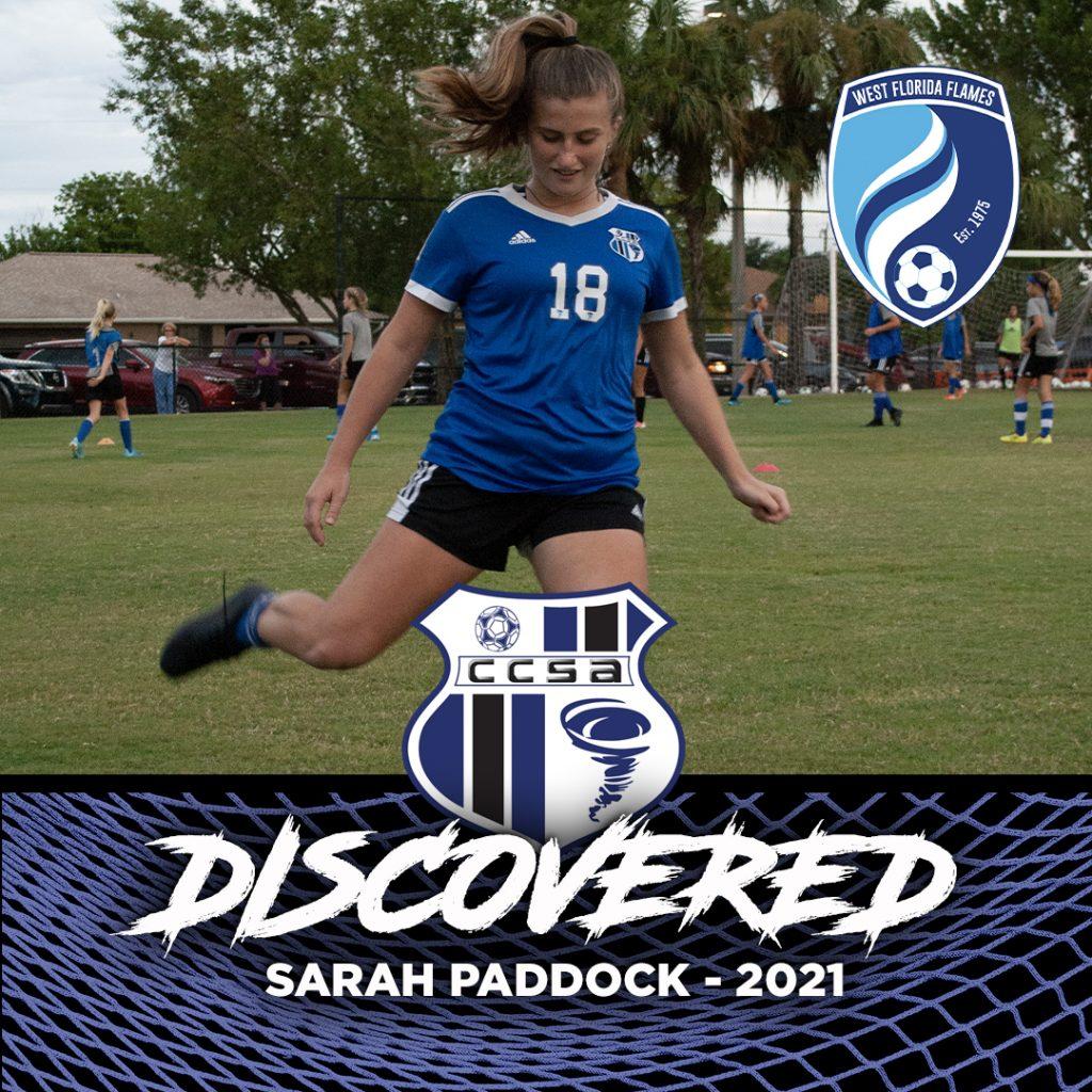 Sarah Paddock West Florida Flames Futures Player