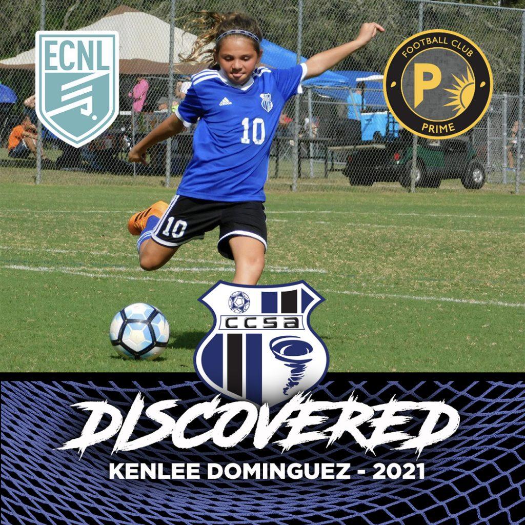Kenlee Dominquez FC Prime ENCL